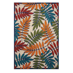 Nourison Aloha Alh05 Floral Outdoor Rug Multicolor