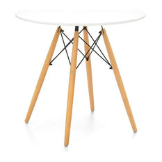 Eiffel Dining Table With Woodlegs