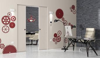 Absolute Energy - Filo muro scorrevole con predisposizione punti luce