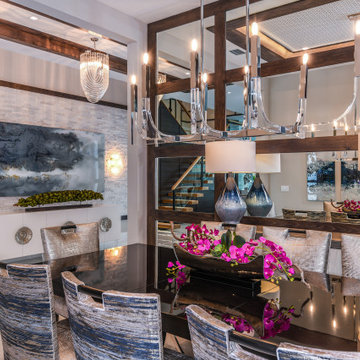 West Palm Beach Private Residence - Dining Room