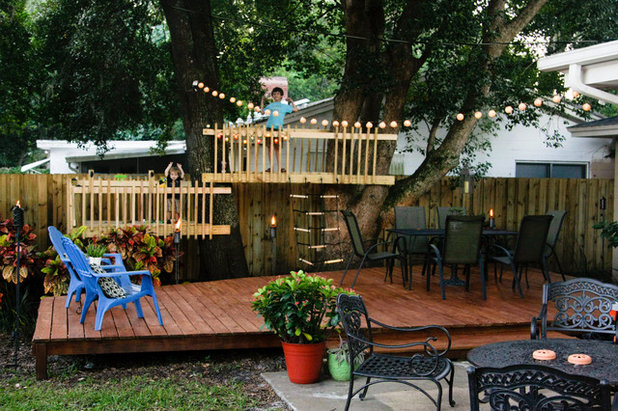 Deck and Treehouse