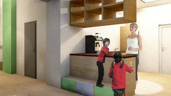 Innenrumgestaltung Kindertagesstätte