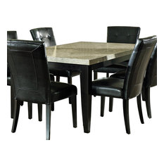 Steve Silver Company   Steve Silver Monarch Marble Top Dining Table   Dining  Tables