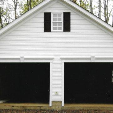 New Garage (after)