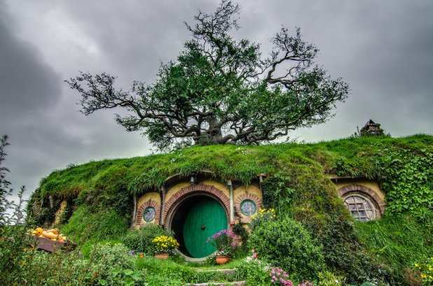 "Bag End on the Hobbiton ""Lord of the Rings"" set in New Zealand"