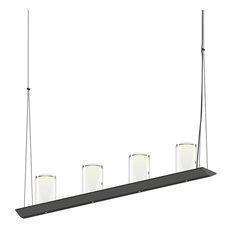 Sonneman 2857.25-LC Votives 3' LED Bar Pendant Light In Satin Black