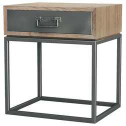 Industrial Nightstands And Bedside Tables by Asta Furniture