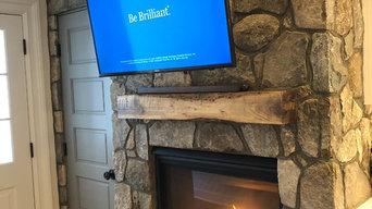 Beautiful Interior Fireplace