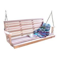 5' Red Cedar American Classic Porch Swing
