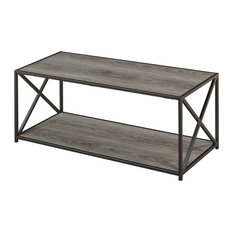Convenience Concepts   Tucson Coffee Table, Weathered Gray   Coffee Tables