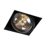 Recessed Spotlight Oneon 1 G53 Trimless Black