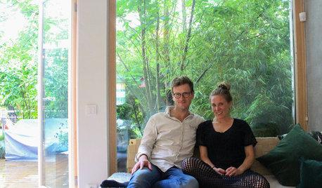 Houzz Tour: Hanna og Peder bor til leje – med pool og bæredygtig energi