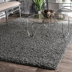 Nuloom Alexa My Soft And Plush Rug Gray 8 X10
