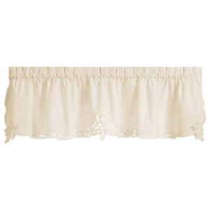 Floret Swag Pair Traditional Valances By Heritage Lace Houzz