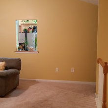 Current living room to be decorated