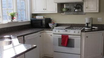 Kitchen staging and organization