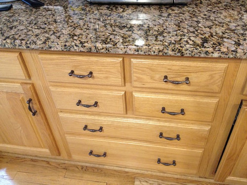 Would You Dilute The Stain Color Also Go Darker On Floor And Lighter Cabinets Or