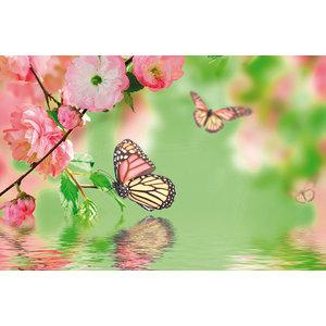 Fluttering Butterfly Gallery Door Mat, Small