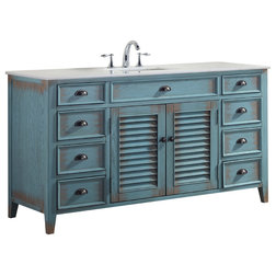 Beach Style Bathroom Vanities And Sink Consoles by Modetti USA