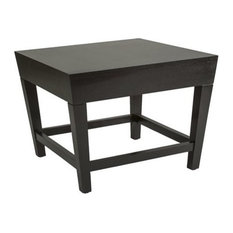 Allan Copley Designs - Marion Square End Table in Espresso Finish - Side Tables and End Tables
