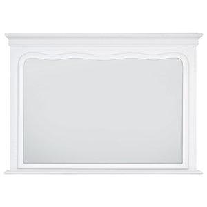 Hanover Mirror, White, 80x110 cm