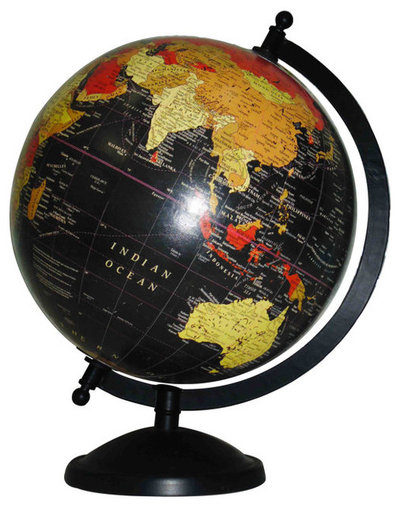 Contemporary World Globes by Etsy