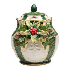 Holly Candy Jar