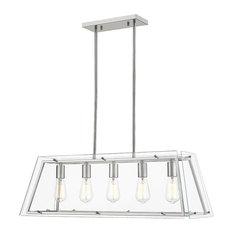 OVE Decors Evan V 5-Lights LED Chandelier Light