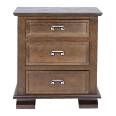 REZ Furniture - Cavali Nightstand, Coffee - Nightstands and Bedside Tables