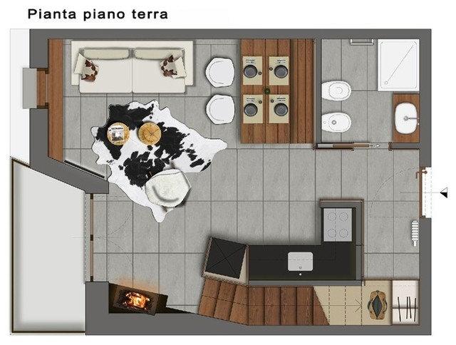 Rustikal Grundriss by Design Alpino