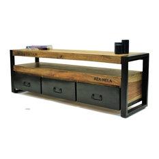 murs tv et meubles tv industriels