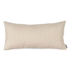 Sterling Natural Sand Kidney Pillow, Down Insert