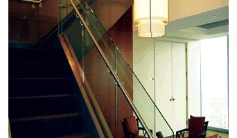 Evans Glass Stairs Glass