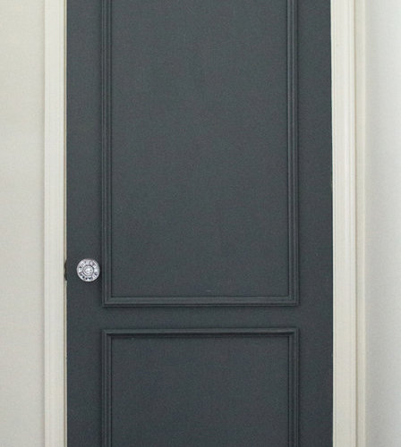 Brooklyn Two Panel Applied Door Moulding Kit   Home Decor