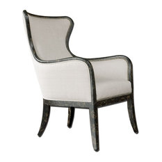 Carolyn Kinder International - Carolyn Kinder Sandy Wing Chair X-37032 - Armchairs and Accent Chairs