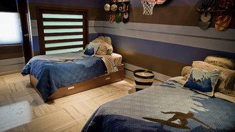 Boy's Sports Room