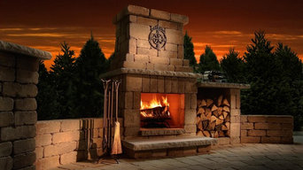 Outdoor Fire Features - Fireplace