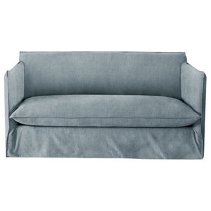 Sophie Sofa Bed, Wedgewood, 1.5 Seater, 113x186 cm