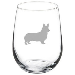 Contemporary Wine Glasses by MIP INC