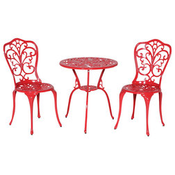 Contemporary Outdoor Pub And Bistro Sets by Meadow Decor Inc