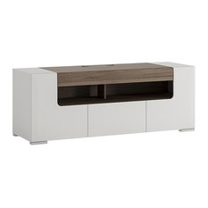 Toronto Low TV Cabinet, White