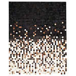 Gambrell Renard - GR Artisan Collection Equalizer Cowhide Rug - GR Artisan Collection Equalizer Hand Stitched Cowhide Rugs