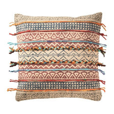 Global Fusion Cushion, Stripes, Filled