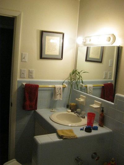 Unique Reader Bathroom