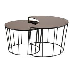 Sunmin Coffee Table, Set of 2
