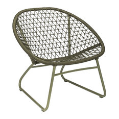 Bao Bao Olive Green Garden Lounge Chair