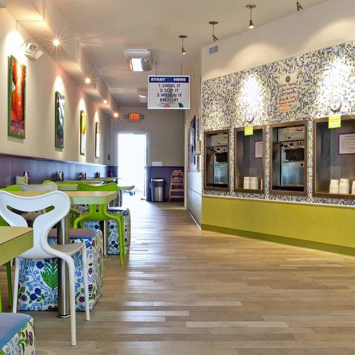 Avalon - Enticing Frozen Yogurt Shop