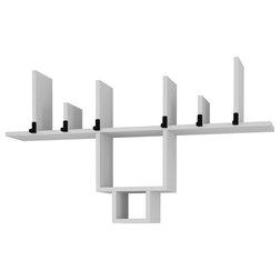 Modern Wall & Coat Hooks by HOCUSPICUS LTD
