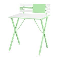 Children's Computer Writing Desk, Light Green