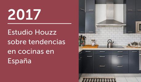 Estudio Houzz sobre tendencias en cocinas en España 2017